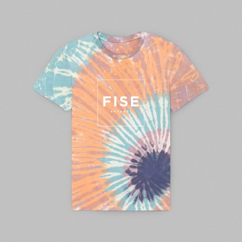 FISE TIE AND DYE - Tee