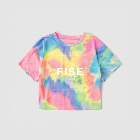 FISE APPAREL TIE AND DYE - T-shirt croptop